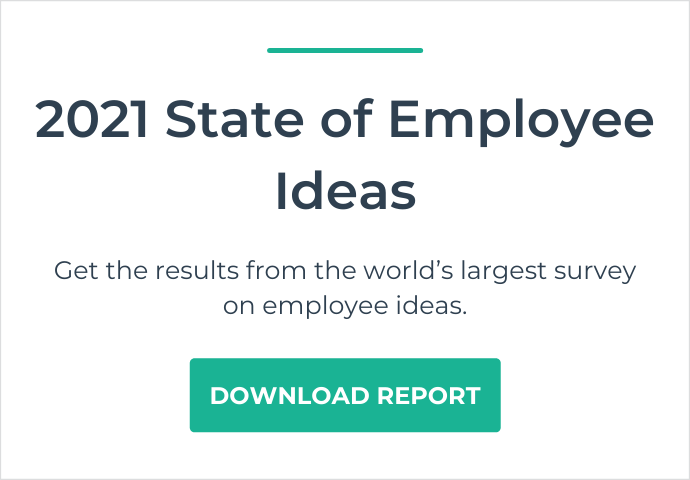 State of Employee Ideas 2021